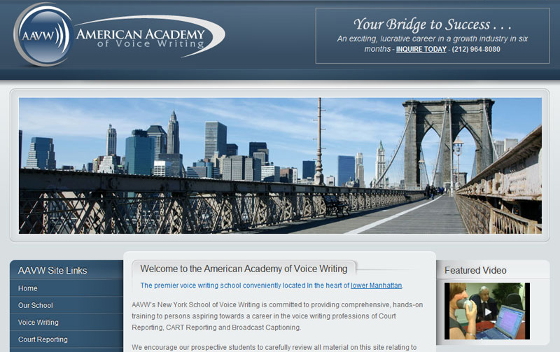 American Academy of Voice Writing