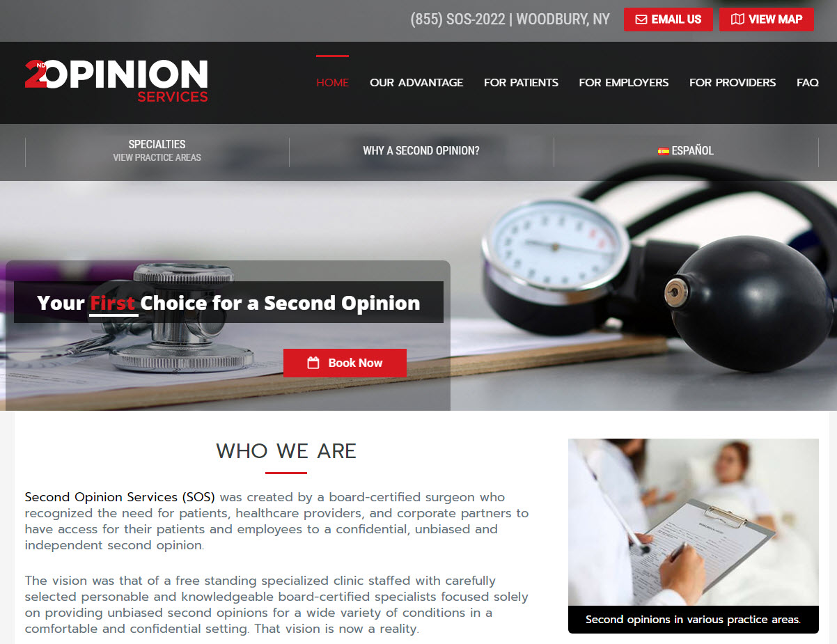 Second Opinion Services